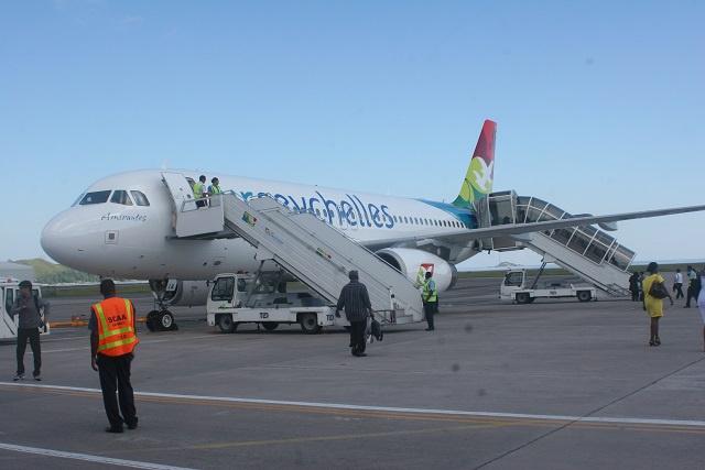 Reprise de vols d'Air Seychelles