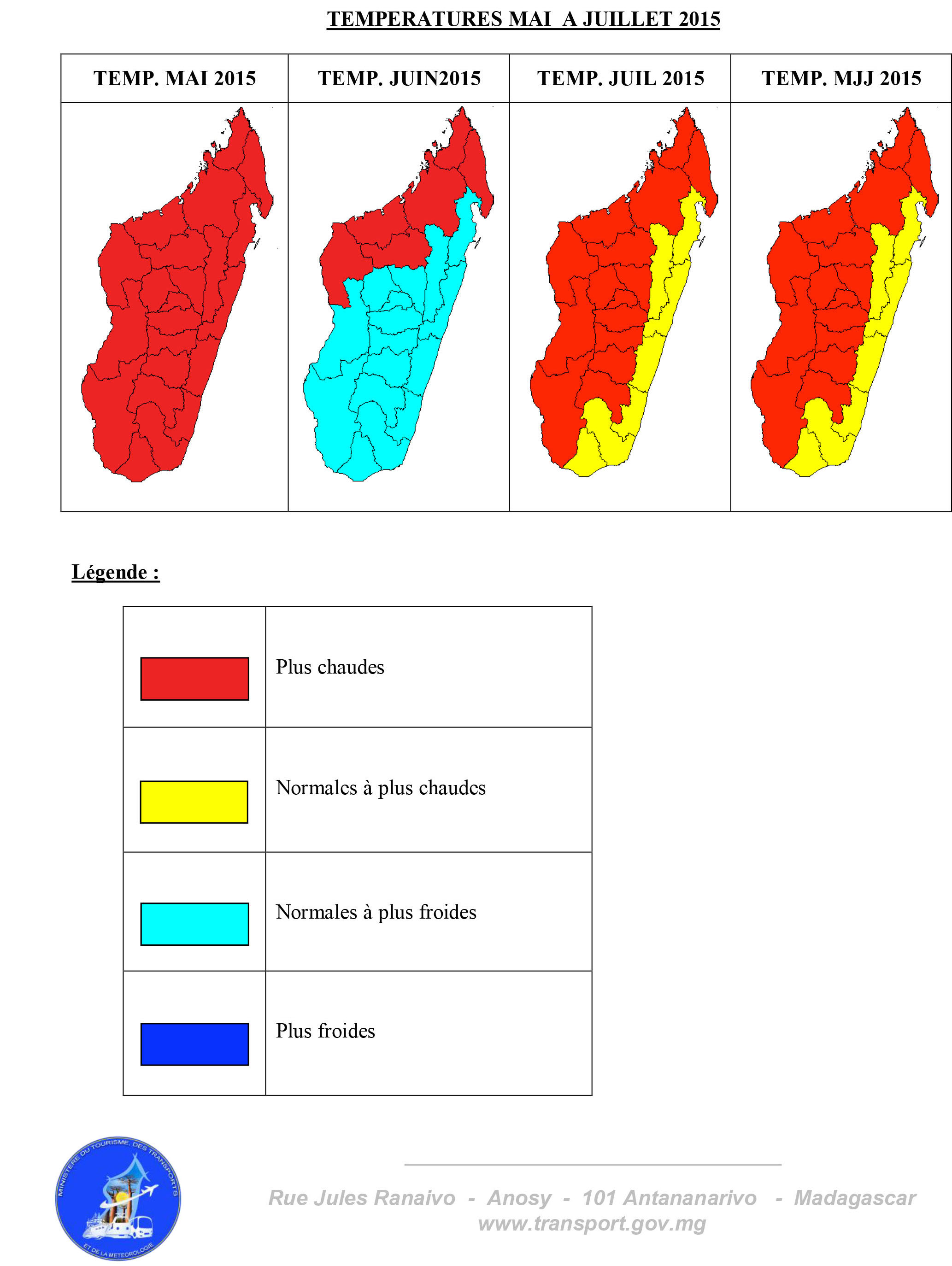 Carte Climat Madagascar.La Saison Froide Montre Le Bout De Son Nez Madagascar